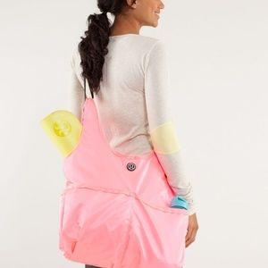 LULULEMON Post Savasana Tote Bag - Pink Shell